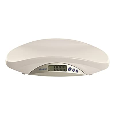 Brecknell MS-Pediatric/Medical/Veterinary Scale, 44 lb. Capacity, Removable Easy to Clean Platform