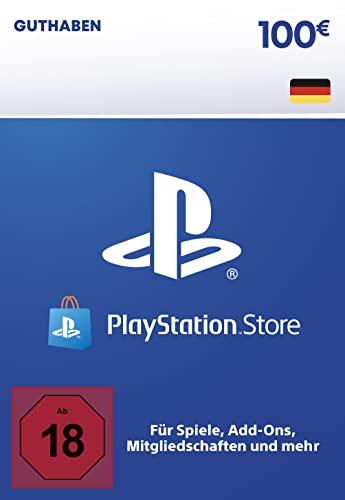 PSN Guthaben-Aufstockung | 100 EUR | deutsches Konto | PS5/PS4 Download Code