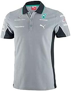 Polo Mercedes Amg Petronas Team Gris Talla L: Amazon.es: Deportes ...