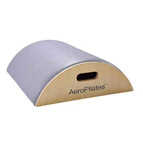 AeroPilates Precision Arc Barrel | Decompress and Lengthen Spine | Two Free Online Workout Videos Included | Lightweight, Compact Design