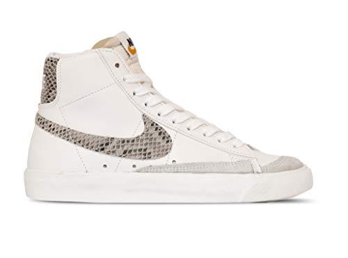 Nike Blazer MID'77 VNTG WE Reptile Sneakers Bianco PITONATO CI1176-101 (42.5 - Bianco)