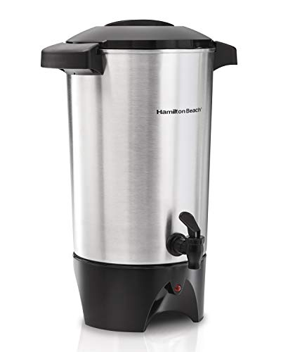 Hamilton Beach C40515 - Cafetera (Independiente, Negro, Acero inoxidable,...