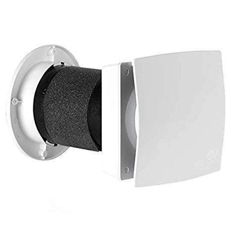 Vortice 11631 Recuperatore di calore Aspiratore D'Aria Purificatore Ventilazione Ambiente HRW 20 Mono HCS con sensore di umidità