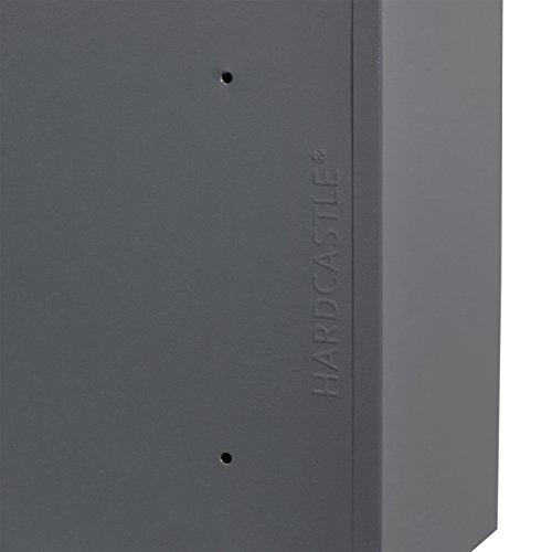 Hardcastle – Abschließbare Paketbox aus Metall – Groß – Grau - 7