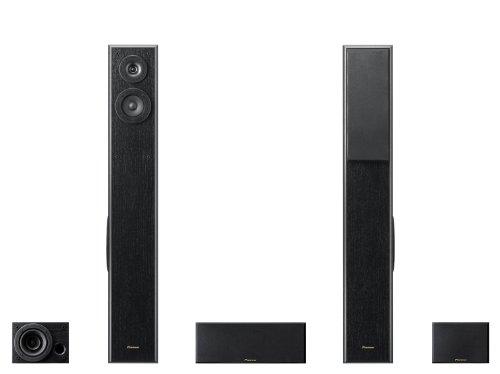 Pioneer S-ESR2TB conjunto de altavoces - Set de altavoces (5.0, Cine en casa, 120W, 50 - 20000 Hz, 8 Ohmio, 150W) Negro