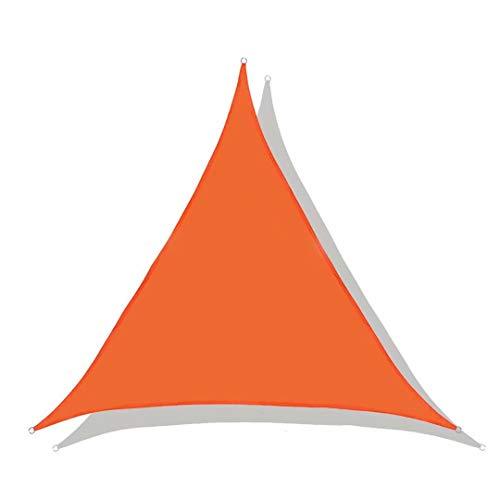 Lanbent Wasserdicht Sonnensegel Sonnenschutz, 95% UV Block Dreieck Winddicht Schattenspender, Carport und Pergolaabdeckung für, Garten, Terrasse, Balkon und Camping