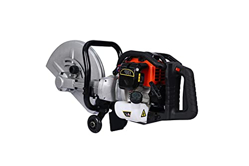 14-Inch 52cc 2 Stroke gas powered concrete Cut Off Saw Gasoline Grinder without blade