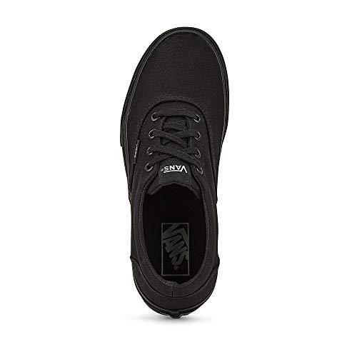 Vans Doheny, Sneaker Donna, Nero ((Canvas) Black/Black 186), 38 EU