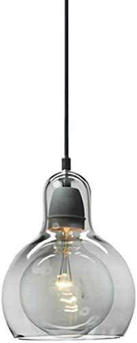 Araña de cristal redondo sombra lámpara de mesa de la cocina bar terraza del restaurante,Fumo Grigio