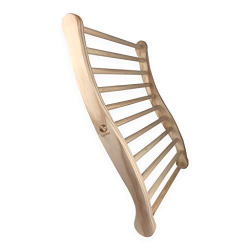 SudoreWell® Sauna Rückenlehne - 2-seitig ergonomisch geformt