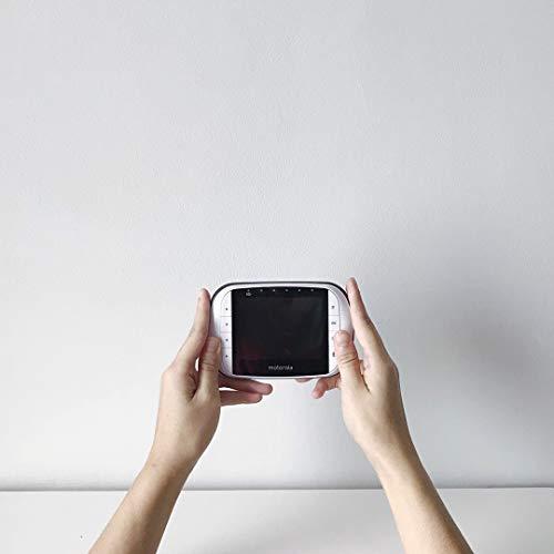 Motorola MBP36S/SC - Moniteur Vidéo Bébé avec Écran LCD Couleur 3,5', Panoramique, Inclinaison...