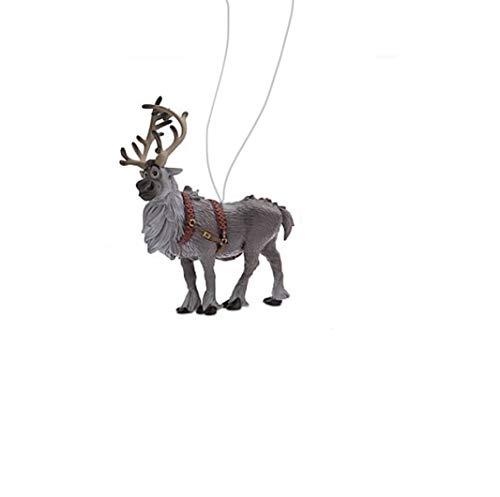 """Disney Sven Reindeer 3"""" Custom PVC Holiday Christmas Tree Ornament Figure Figurine"""