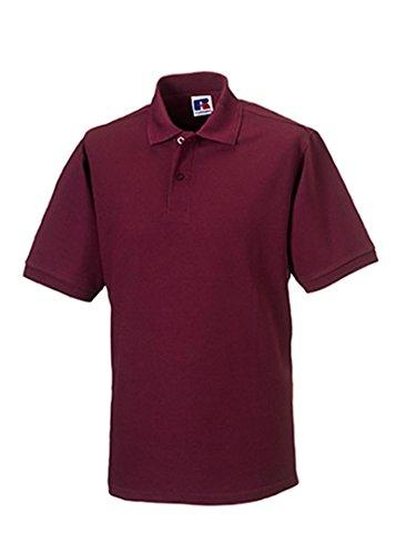 Russels Workwear Polo résistant pour homme - Rouge - XXXXL