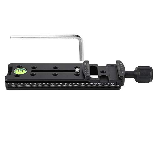 Release Clamp, Aluminium Alloy Release Bracket, Black for Traditional Slr Cameras