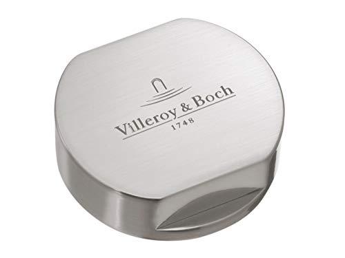 Villeroy & Boch 9405 25 L7 Abdeckkappe für Doppeldrehgriff gebürstet rund