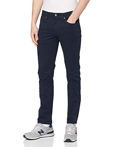 Levi's Herren 511 Slim Jeans, Baltic Navy Sueded Sateen Wt B, 34W / 32L