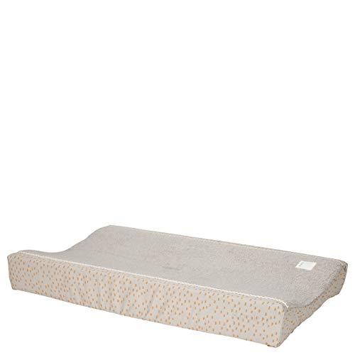 Koeka - Wickelauflagenbezug Malin - Baby Bezug Für Wickelauflage - Abwaschbar - Baumwolle - Grau - 45X73 Cm