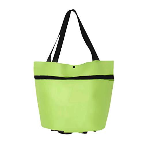 Fanville Trolley Bag Tragbare Multifunktions-Einkaufstasche Oxford Folable Shopping Wiederverwendbare Einkaufstüten