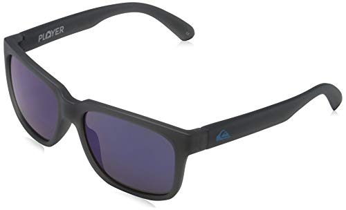 Quiksilver Jungen Player-Sonnenbrille 8-16, Grey/Blue/Blue - Combo, 1SZ