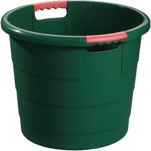 Garantia Universal Eimer 30 Liter (Kunststoffbehälter ø 426 mm, Höhe 340 mm, Mehrzweckeimer, stapelbar, mit Tragegriff) 3232300