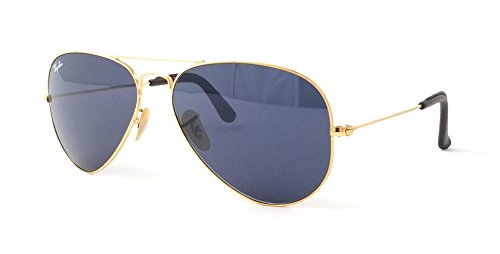 Ray-Ban RB 3025 Gafas de sol, Dorado (Gold), 58 mm Unisex Adulto