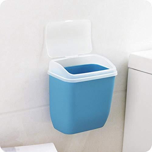Coner Container Prullenbak voor wandmontage Met deksel Plastic Puin Opbergdoos Spijkervrije prullenbak organisator Toiletartikelen voor de keuken