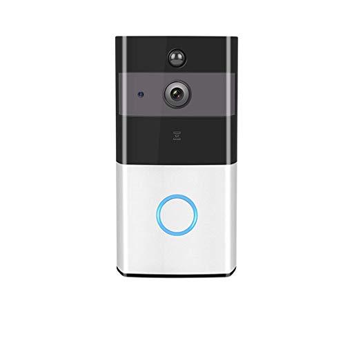 BALLDOD draadloze deurbel video-intercom-ondersteuning WIF-bewaking op afstand van mobiele telefoons zonder gaatjesinstallatie