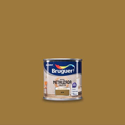 Bruguer Pintura Metalizada para objetos Oro 125 ml