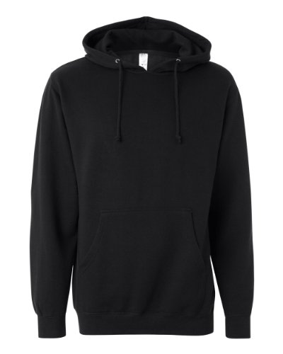 Independent Trading Co. Mens Midweight Hooded Sweatshirt (SS4500)