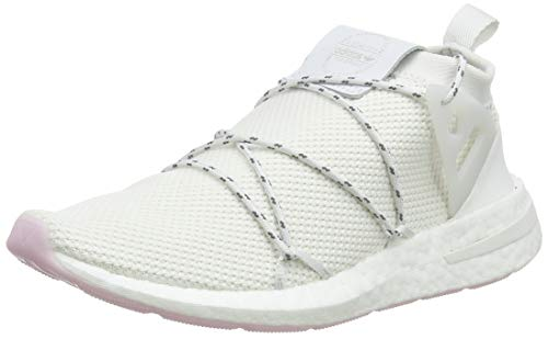 adidas Damen Arkyn Knit W Gymnastikschuhe Weiß (Crystal White/Ftwr White/Clear Pink), 36 EU