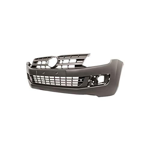 DM Autoteile ABS Stoßstange vorne lackierfähig +Grill passt für Amarok 2H ab 2010