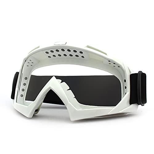 Fencelly Gafas de motocross para motocicleta, protección UV, resistente al viento, a prueba de polvo, para hombres, mujeres, jóvenes, niños