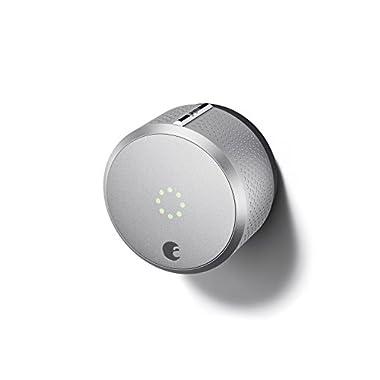 August Smart Lock HomeKit Enabled (Silver)