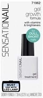 SensatioNail Nail Growth Formula Gel Treatment 71962, 0.25 fl oz