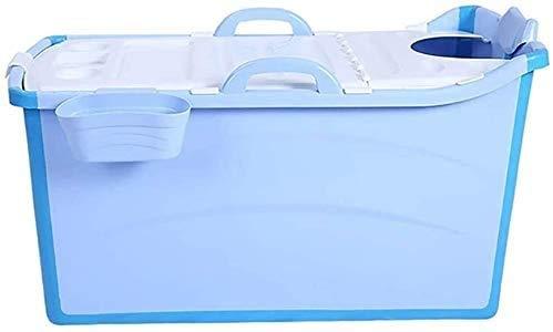 Draagbare zomerbad - Zwembaden Opblaasbare verlengde emmer voor volwassenen Plastic voor kinderen Opvouwbaar Groot vat Bad Babyzwemmen Badkuipen Bad (kleur: roze)