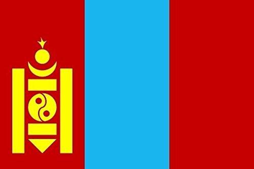 U24 Fahne Flagge Mongolei 60 x 90 cm