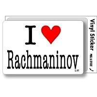 ILBT-128 アイラブステッカー I love Rachmaninov (ラフマニノフ) ステッカー