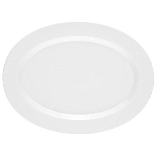 Seltmann Weiden 001.710890 No Limits Plat de service en porcelaine ovale 35 cm