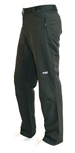 ALTUS Olloqui - Pantaloni da Trekking da Uomo, Colore Nero, Taglia L