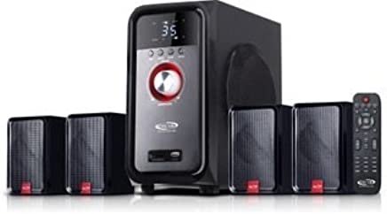 cb1237fec6a Oscar OSC-4221 En 3500W PMPO 4.1 Channel Multimedia Home Theatre System  with Bluetooth Connectivity