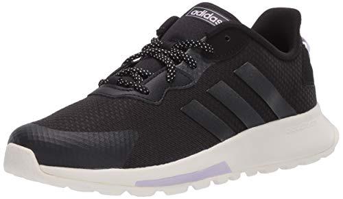 adidas Damen Quesa Trail X Shoes Laufschuh, Core Black/Core Black/Purple Tönung, 40 2/3 EU