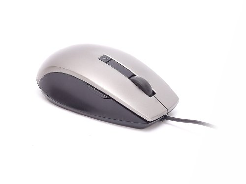 Genuine Dell K251D 6-Button Grey Gray Silver Black USB Scroll Wheel Optical Laser Mouse, Works Perfectly With Windows 95, 98, NT 4.0, 2000, XP, Vista, and Windows 7, and Will Work With ANY Computer System That Supports USB Connectors, Compatible Part Numbers: M534D, Y357C, Model Number: M-UAV-DEL8