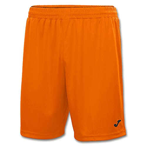 Joma Nobel Pantalones Cortos, Hombres, Naranja, M