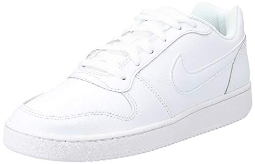Nike Men's Ebernon Low Basketball Shoe, white/white, 12 Regular US