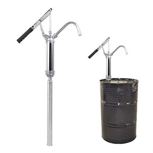 Qiilu Ölfaßpumpe mit Hebel, Fasspumpe Hebel Handpumpe für Diesel, Kerosin, Getriebeöl, Motoröl
