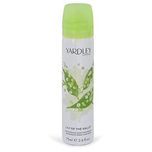 Yardley Maiglöckchen Körperspray, 75 ml