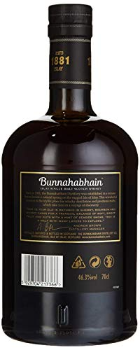 Bunnahabhain 12 Jahre - Islay Single Malt Scotch Whisky (1 x 0.7 l) - 7