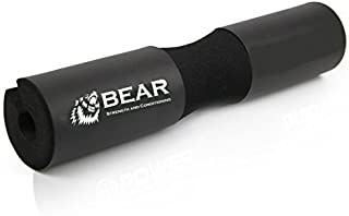 BEAR STRENGTH & CONDITIONING Next Generation Squat Pad, Comfortable Barbell Sponge for Hip Thrusts, Squats and Lunges