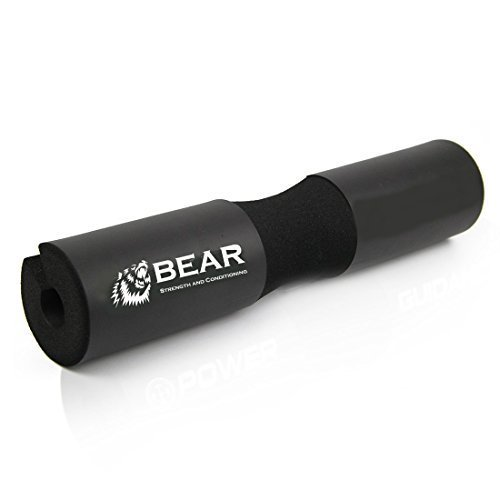 BEAR Strength & Conditioning Barbell Squat Pad - Black