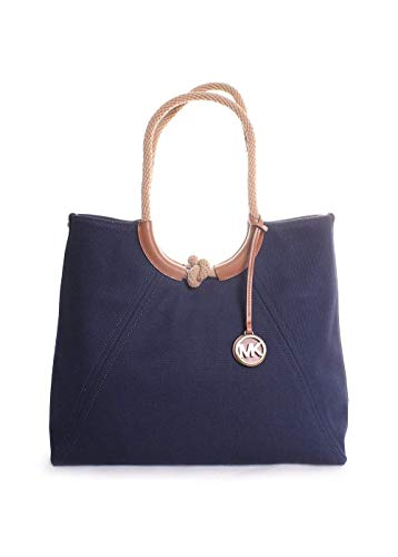 MICHAEL Michael Kors Isla Ring Shoulder Tote Admiral One Size